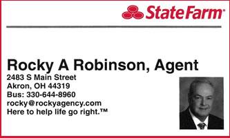 Rocky Robinson - State Farm Insurance 44319