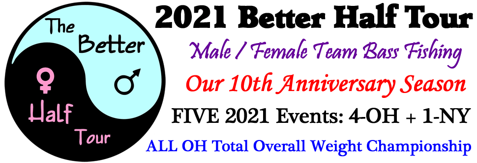 Better Half Tour - Male-Female Bass Fishing Tournaments