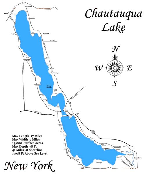 Chautauqua Lake NY - Smallmouth Fishing
