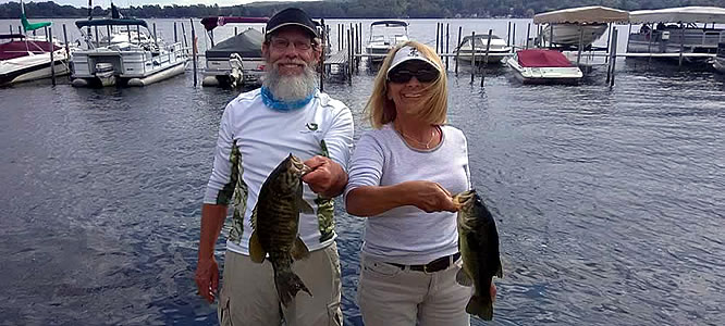 NY Bass Fishing - Better Half Tour
