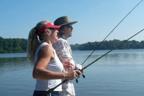 Bass Fishing Love Story