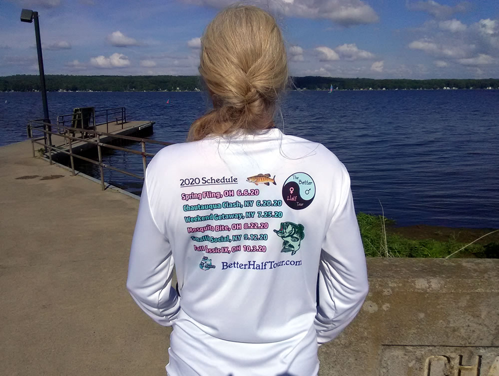 Better Half Tour Fishing Shirts